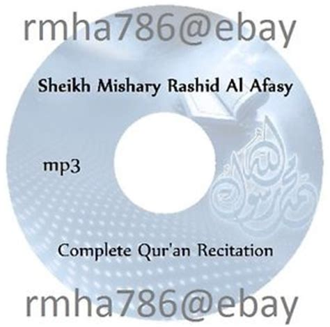 download mp3 al quran mishary al afasy quran cd islam ebay
