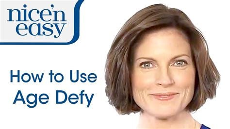 how to use nice n easy hair color at home hair dye how to use age defy hair colour nice