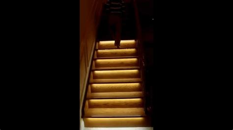 motion sensor stair lights motion activated stair light system part 1