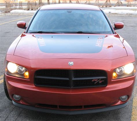 2006 dodge charger rt upgrades 2006 gomango orange dodge charger r t daytona r t