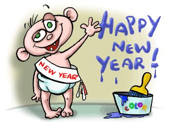 happy  year clipart  animations