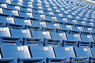 what are seats at a football stadium seats 3 royalty free stock photos image 17817538