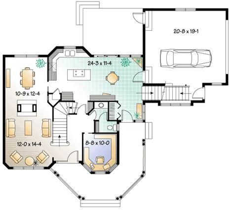 Veranda Floor Plan by Architectural Designs