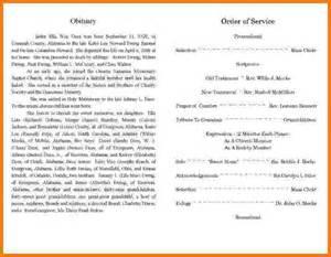 obituary templates obituaries template free ebook database