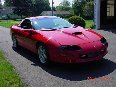 auto air conditioning service 1997 chevrolet camaro electronic throttle control purchase used red 1997 chevy camaro z28 ss slp solid roof coupe w 24k mi reserve lowered in