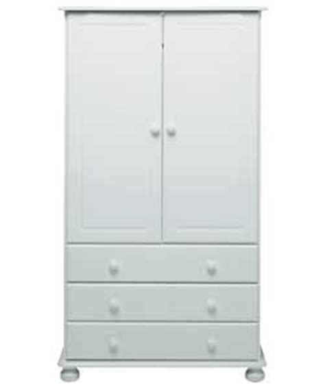 Tallboy Wardrobe With Drawers by Wycombe 2 Door 3 Drawer Tallboy Wardrobe White Review