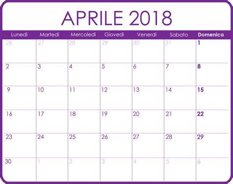 Calendario Mensile 2018 Calendari Mensili Calendari