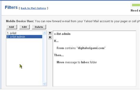 email yahoo with problems origami list problems with yahoo mail