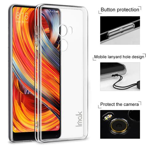 Imak 2 Ultra Thin For Xiaomi Mi Mix for xiaomi mi mix 2 mix2 original imak clear transparent protection phone