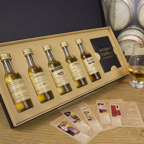 single malt whisky gift set by whisky tasting company