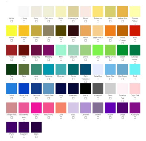color swatches color swatches for custom wedding shoes accessories