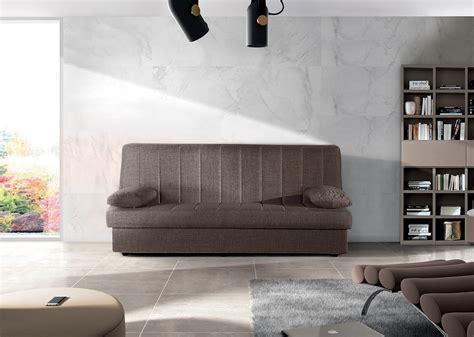 divani marroni tessuto divano letto 3 posti in tessuto marrone