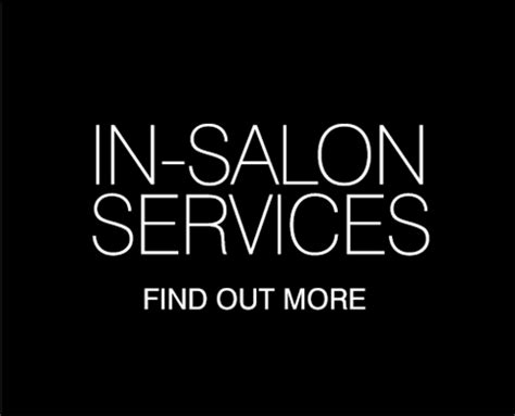regis salon services master colour experts professional hair colourists