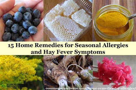 15 home remedies for seasonal allergies and hay fever symptoms