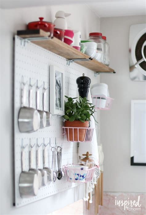 diy kitchen pegboard a beautiful mess 57 best images about kitchen design ideas on pinterest