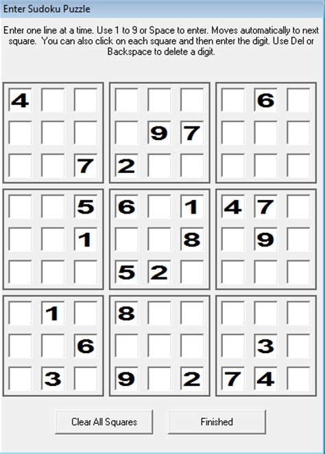 printable sudoku directions enter sudoku from papers books and magazines