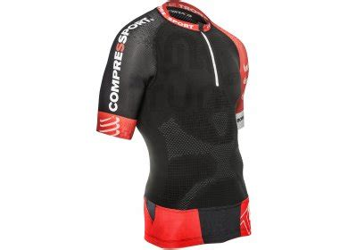 Compressport Trail Run V2 compressport maillot trail running v2 m pas cher