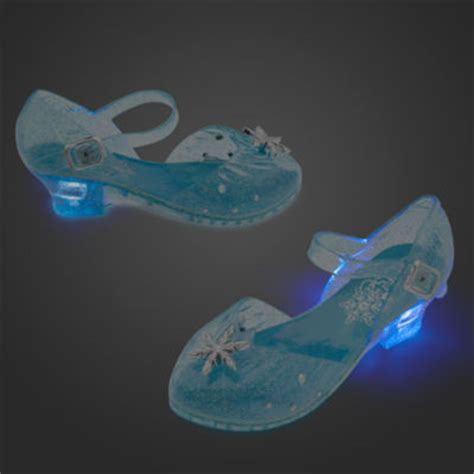disney store frozen elsa light up shoes elsa light up costume shoes for kids frozen