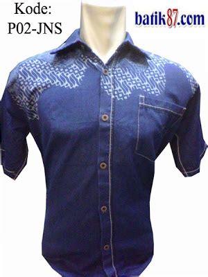 Kemeja Pattaya jual grosir baju batik denim nudie pria wanita murah
