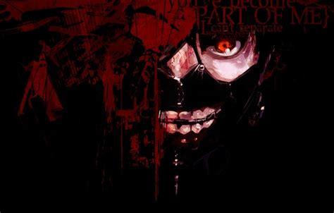 Hd Tokyo Ghoul Iphone Dan Semua Hp 1 обои токийский гуль tokyo ghoul красный глаз канеки кен kaneki ken маска картинки на