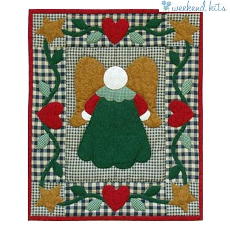 Beginners Quilting Kits by Wall Hanging Quilt Kit Beginner Applique