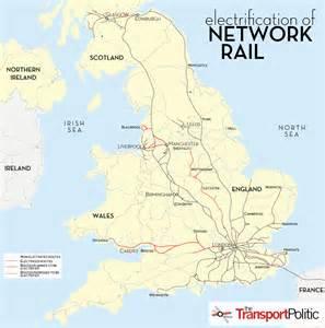 map uk rail lines united kingdom commits to further rail electrification