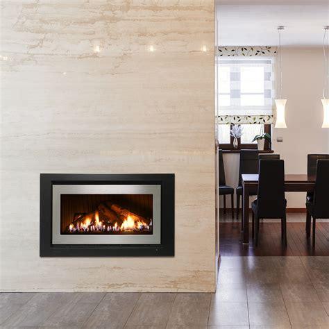 Gas Fireplace Log by 950 Range Gas Log Fireplace Rinnai Australia