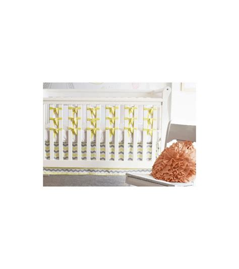 oliver b ventilated slat 20 pack bumpers in pale yellow