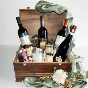 best christmas wine gift basket