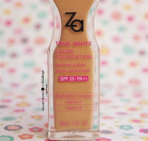 Za Eyeshadow Review za true white liquid foundation review swatches price