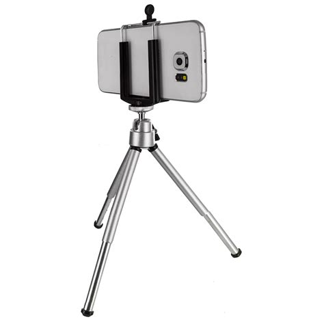 Universal Mini Tripod Stand For Smartphone P Diskon tripod universal stand mini portable holder mount for cell phones ebay