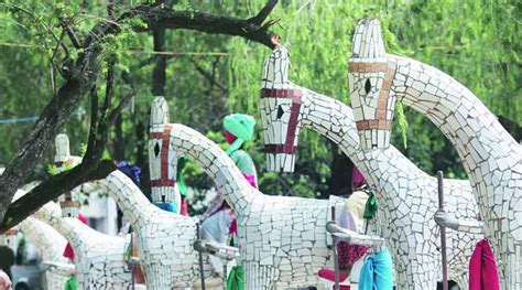 Nek Chand Rock Garden Chandigarh The Waste Maker The Indian Express
