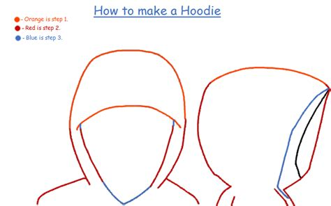 how to draw hoodies how to draw a hoodie by tmntshoujo on deviantart