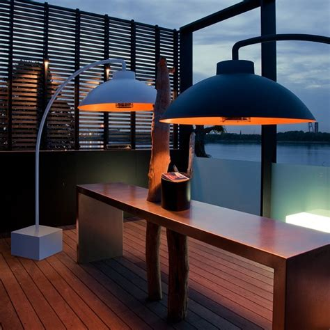 Heatsail Dome Bow Modern Electric Patio Heater Quality Contemporary Patio Heaters