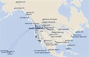 alaska airlines map us alaska airlines flying profitably with no interest for