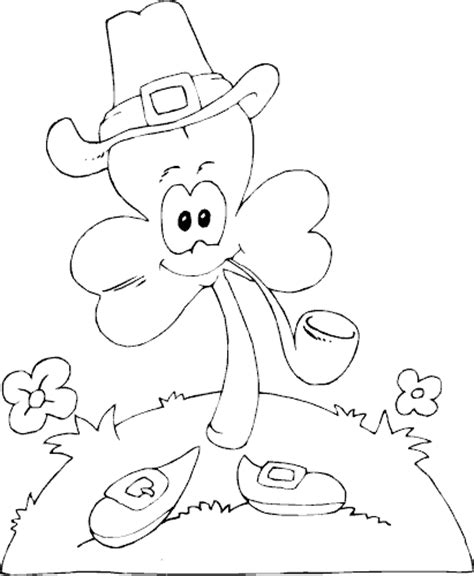water pipe coloring pages coloring pages clover with pipe coloring page coloring com