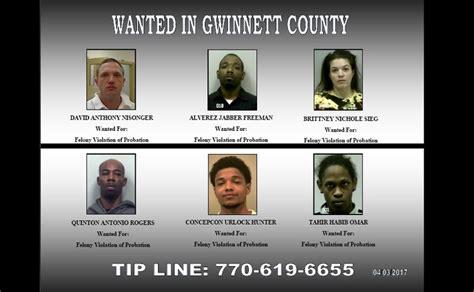 Gwinnett County Probation Office by Wanted In Gwinnett Sheriff Seeks 6 On Probation