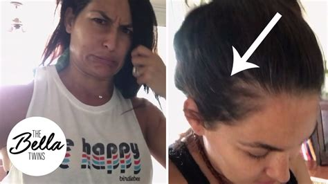 nikki bella extensions hair drama who s to blame for brie bella s mullet weave