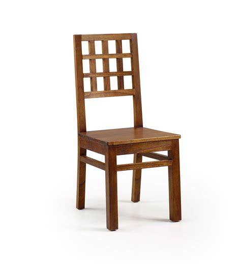 mawan chaise vintage bois massif