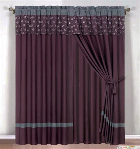 Gray And Purple Curtains Ideas Purple And Gray Curtains Furniture Ideas Deltaangelgroup