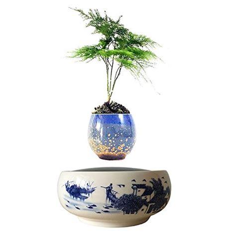 Pot Pohon Melayang Levitating Floating Plant levitating floating bonsai air plant ceramic bonsai pot