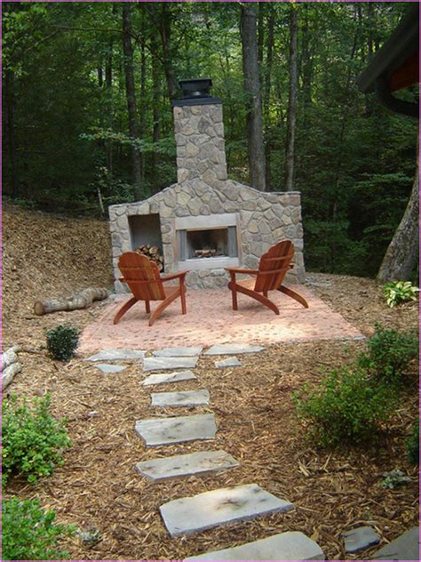 Outdoor Fireplace Designs Diy by Diy Outdoor Fireplace Is Idea Fireplace Designs