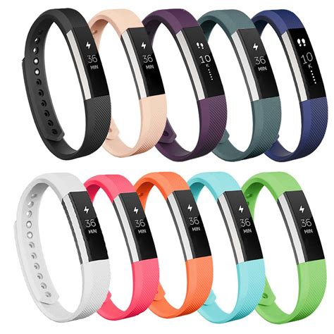 alta colors fitbit alta fitness tracker silver teal