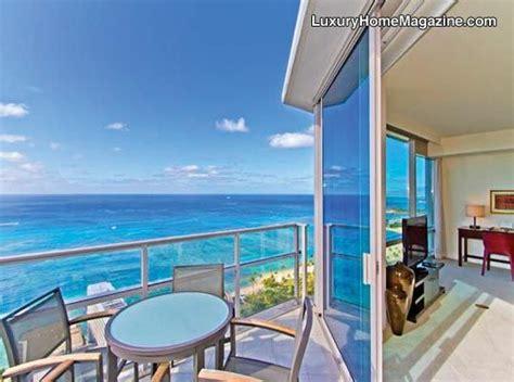hawaii appartments luxury trump tower loft penthouse views ocean apartment penthouse balcony