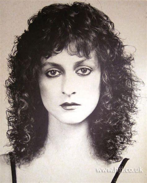 1979 hair styles 1979 brunette permed hairstyle hji