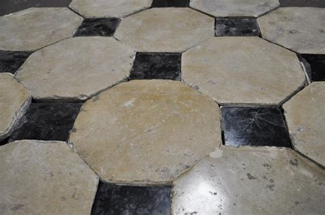 Antique Marble Floor L by Antique Floor With Black Marble Cabochons Floors