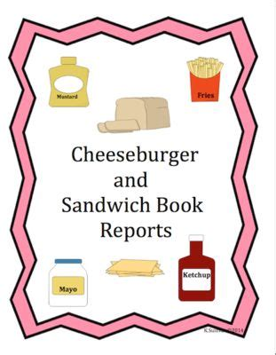 sandwich book report printable 1000 images about book projects reports on