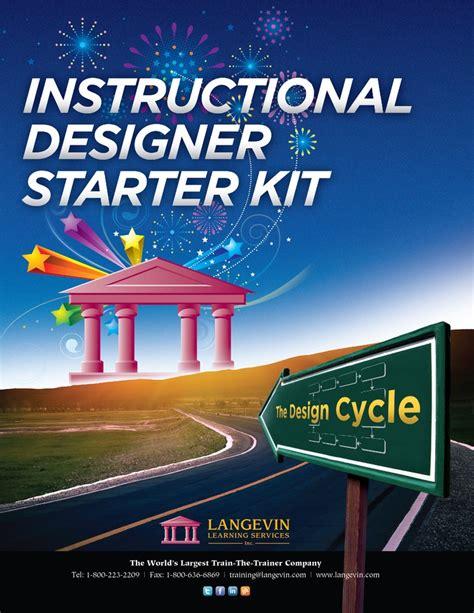 instructional design certificate wisconsin instructional designer starter kit a free starter kit