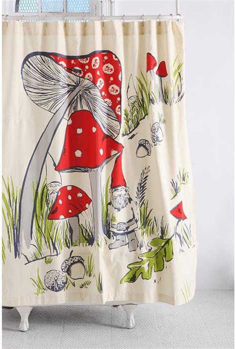gnome shower curtain gnome shower curtain products i love pinterest