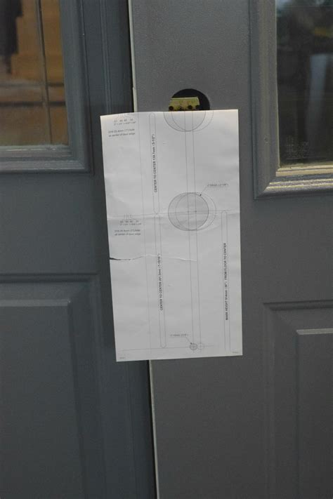 door hardware templates front door makeover how to paint our house now a home